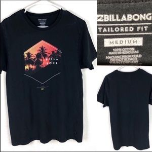 Billabong Black Tee Shirt.
